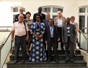 1re réunion du Comité scientifique de l'Observatoire de la langue française à l'OIF