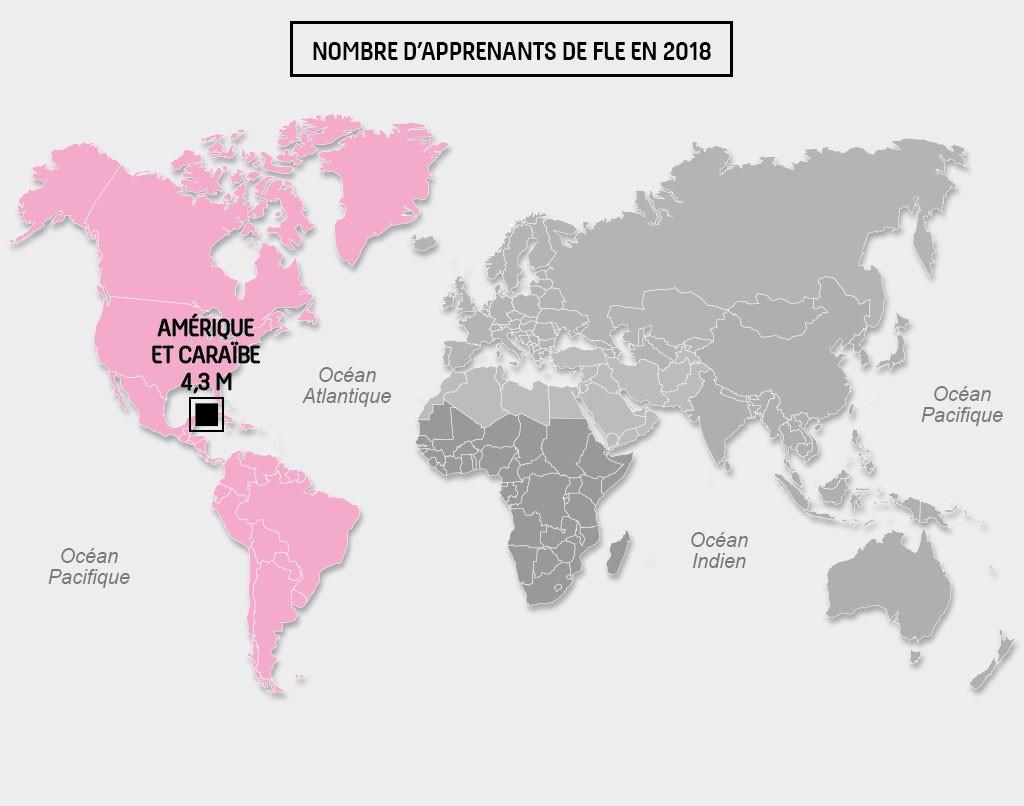 Carte Amérique Caraibes_FLE2018