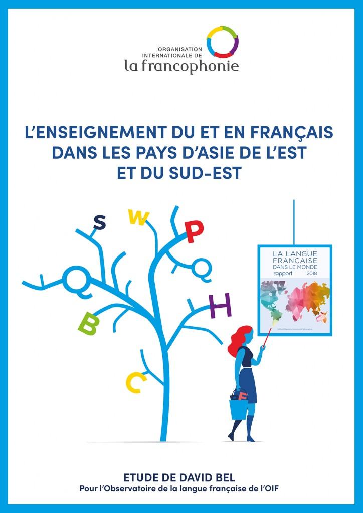 L'enseignement du et en français dans les pays d'Asie de l'est et du sud-est - Etude Davide Bel