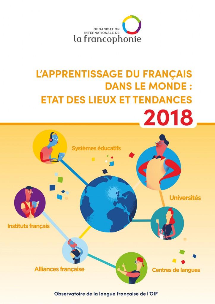 L'apprentissage du français dans le monde : état des lieux et tendances 2018